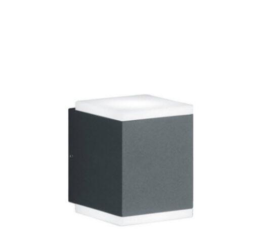 Extralux Kibo 2x5 - watt_3000K wandlamp - antraciet
