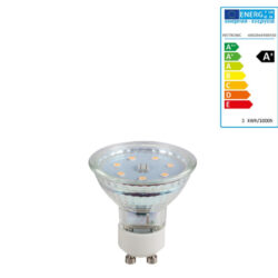 Extralux Lamp Led 3 watt - GU10 3000K - 280lm