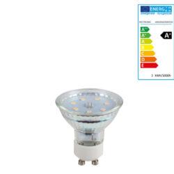 Extralux Lamp Led 3 watt - GU10 3000K - 280lm