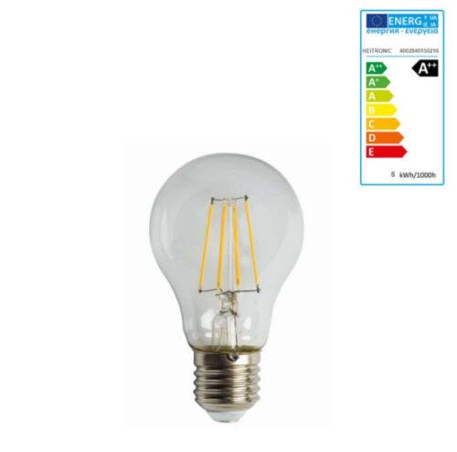 Extralux Lamp Led 6 watt - E27 2700K - 600 lm