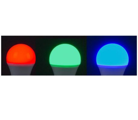 Extralux Lamp RGB Led 4 watt - E27 3000K - 300lm