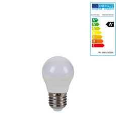 Extralux Lamp RGB Led 4 watt - E27 3000K - 300lm