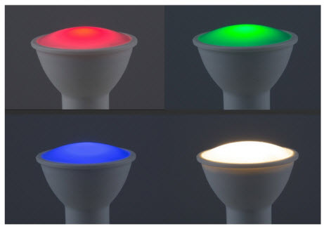 Extralux Lamp RGB Led - GU10 2700K - 250lm Dimbaar 3