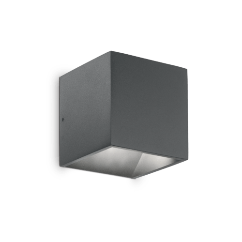 Extralux Monte Wandlamp Led 6 Watt – 670Lm antraciet
