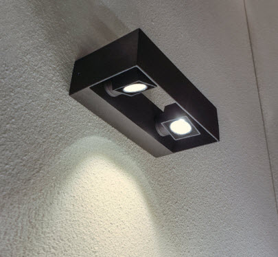 Extralux Vigo wandlamp 2x6 watt - 3000K - 265Lm