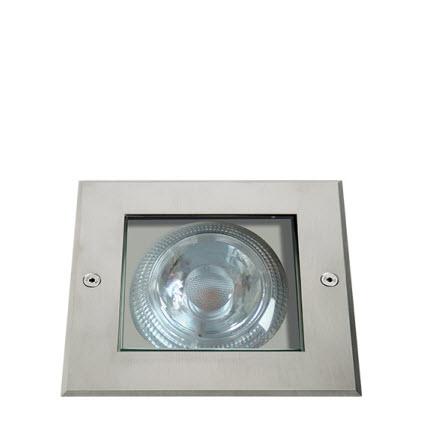 Parkline SQ GEO-163 grondspot LED 16.4 Watt - vierkant (16° - 40° -74°)