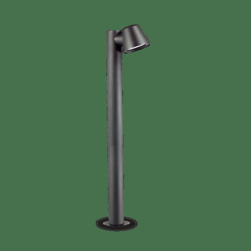 Extralux Gas GU10 staande lamp Max. 3Watt 3000K antraciet