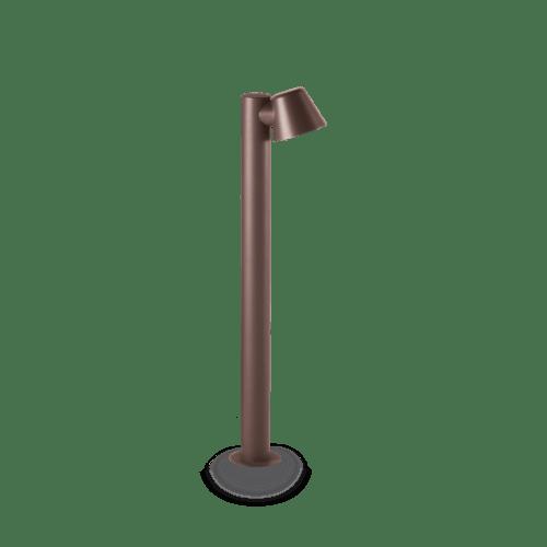 Extralux Gas GU10 staande lamp Max. 3Watt 3000K koper