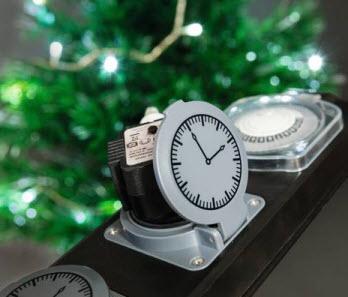 Extralux stekkerdoor IP44 3x stopcontact met timer 1,8mtr. 3