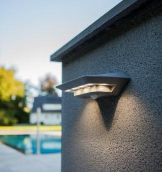 Solar Ghost LED met sensor 2.4Watt - 260Lm - 4000K a